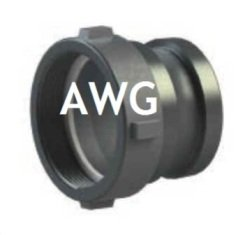 AWG adapters bs 336 male with bsp female thread