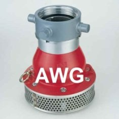 AWG suction strainers BSRT with non-return valve