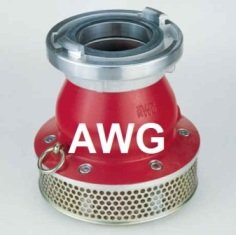 AWG suction strainers storz with foot valve